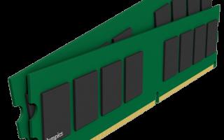 Установка дополнительной оперативной памяти на компьютер