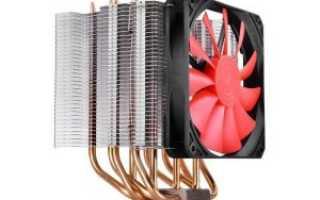 Установка кулера на процессор 1151
