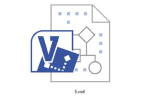 Расширение VSD чем открыть