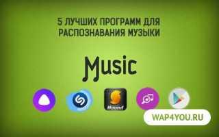 Программа для поиска названия песни по звуку