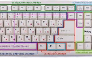 Для чего предназначена клавиша Enter