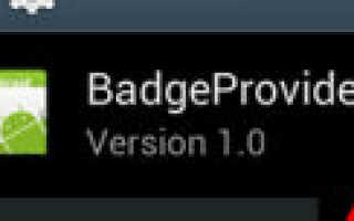 Badgeprovider что это за программа