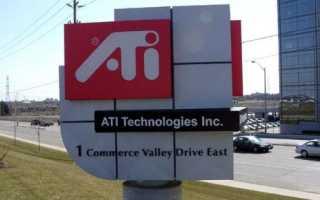 Ati technologies что это за программа