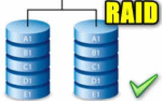 Create RAID volume что это