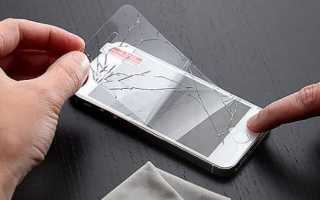 Установка защитного стекла на телефон своими руками
