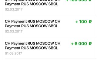 Ch payment rus Moscow sbol что означает
