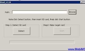 Как записать прошивку андроид на sd карту
